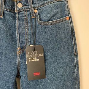 Levi's Jeans - Levi's Wedgie fit straight leg cropped jeans